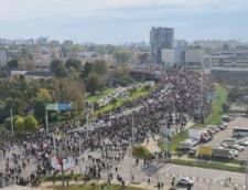 VIDEO Noi proteste in Belarus: Fortele de ordine au utilizat tunuri de apa