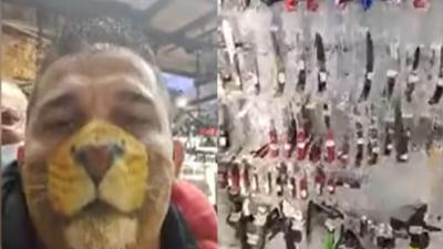 """VIDEO Noile """"aventuri"""" ale clanului Corduneanu. Petrecere fara masca in plina pandemie si live dintr-un magazin de armament: """"Care vrea sa-i cumpar un cutit sa i-l aduc acasa"""""""
