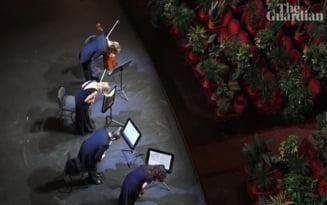 VIDEO Opera din Barcelona s-a redeschis cu un concert sustinut in fata a 2.292 de plante