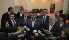 VIDEO PSD si PMP au depus, miercuri, listele de candidati la Biroul Electoral Judetean Buzau