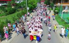 VIDEO Peste o mie de turisti au fost in weekend la Zilele statiunii Sarata Monteoru