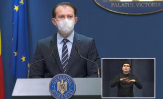 """VIDEO Premierul Florin Citu: """"Nu iau in calcul schimbarea pragului privind infectarile cu SARS-CoV-2 in Bucuresti propusa de HoReCa"""""""