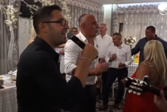 """VIDEO Prunea a facut show pe ritm de manele. """"Toate diamantele pentru regele Florin Prunea"""""""
