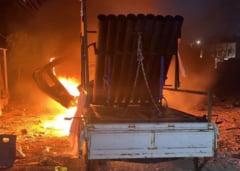 VIDEO Sapte rachete au fost lansate asupra Ambasadei SUA din Irak. O fetita a murit si cinci persoane au fost ranite