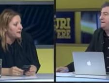 VIDEO Scandal la TV intre Sosoaca si Cartianu: Sunteti platit de USR sa vorbiti impotriva mea!/ Sunteti o nesimtita ordinara!