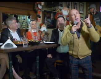 "VIDEO Scandalul ""Revelion la TVR cu Vacanta Mare"": badaranii si glume misogine. Iohannis a fost interpretat zicand ""Tre' sa fii tare bou sa mai stai inchis in casa!"""