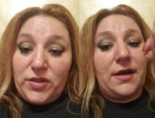 """VIDEO Senatoarea AUR Sosoaca se lauda pe Facebook cu un gest ilegal facut la Cotroceni: """"Mi-am dat masca jos in fata lui Iohannis. SPP-ul a inlemnit"""""""