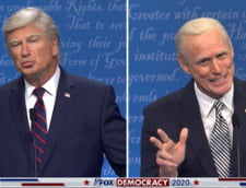 VIDEO Show la o emisiune de televiziune. Cum a fost parodiata prima dezbatere Trump-Biden