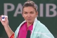 "VIDEO Simona Halep i-a dedicat victoria de la Roland-Garros antrenorului Cahill: ""E un cadou pentru el, e ziua lui de nastere"""