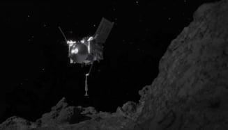 VIDEO Sonda spatiala OSIRIS-REx a NASA, in pericol sa piarda fragmentele de asteroid colectate