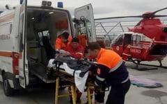 """VIDEO Tanarul care a facut transplant de plamani, transferat cu elicopterul la Institutul """"Marius Nasta"""". A suferit complicatii dupa o raceala puternica"""