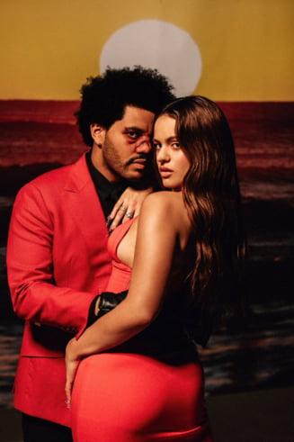 "VIDEO The Weeknd a lansat impreuna cu artista spaniola Rosalia un remix al celei mai ascultate piese in 2020 ""Blinding Lights"""