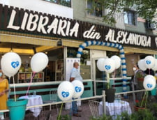 VIDEO UPDATE Cum arata prima librarie din Alexandria, inaugurata cu mare fast. Ministrul Culturii a tinut sa se deplaseze in Teleorman