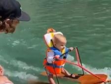 VIDEO Un copil de doar 6 luni a intrat in Cartea Recordurilor. La ce exceleaza baietelul