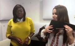 "VIDEO Vedeta din Kenya, interpretare de exceptie de Ziua Romaniei - ""Doamne, ocroteste-i pe romani"""