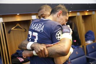 """VIDEO Vestiarul lui PSG """"a luat foc"""" dupa eliminarea lui Bayern"""