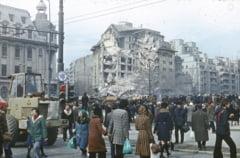 VIDEO Zeci de blocuri daramate si mii de victime la primul cutremur devastator. Primarul Toma cere ajutor de la Guvern