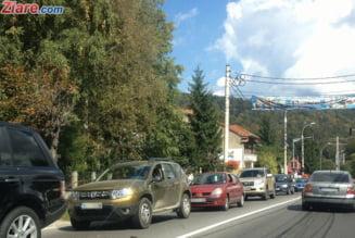 Va intoarceti de la munte? Politia recomanda rute alternative, ca sa nu stati ore in sir blocati in trafic