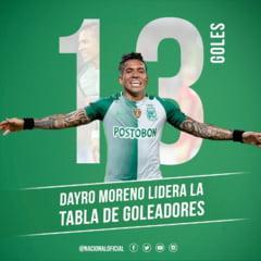 Va mai amintiti de Dayro Moreno? Fostul stelist face senzatie in Columbia