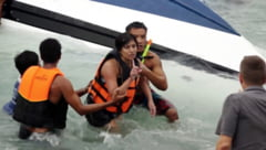 Vacanta de cosmar - Turisti romani, victime ale unui naufragiu in Thailanda