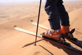 Vacanta in Dubai: Invata sa schiezi pe dune de nisip