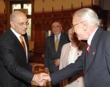 Vacaroiu si Taubman au vorbit despre retragerea din Irak