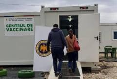 Vaccinarea in Vama Bors, un fiasco. Doar patru persoane s-au imunizat in doua zile la centrul din punctul de trecere a frontierei