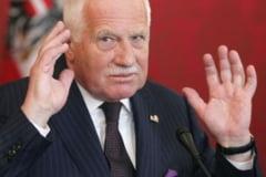 Vaclav Klaus sustine iesirea Cehiei din Uniunea Europeana