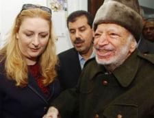 Vaduva lui Yasser Arafat, mandat de arestare pentru coruptie