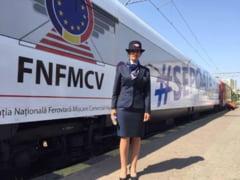 Vagonul-model al CFR soseste in Galati