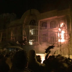 Val de proteste violente, dupa ce Arabia Saudita a executat un cleric siit. Ambasada saudita, incendiata (Foto & video)