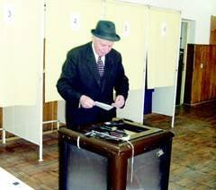 Valcenii au ignorat alegerile locale Prezenta la vot a fost extrem de mica