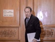 Valer Dorneanu a fost reales presedinte al CCR, pentru un nou mandat de 3 ani