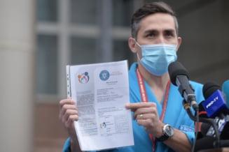 """Valeriu Gheorghita: """"Nu exista o legatura de cauzalitate intre vaccinarea cu serul AstraZeneca si aparitia de cheaguri de sange. Nu trebuie sa intram in panica"""""""