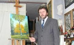 """Valeriu Susnea, pictorul care a lucrat la """"Capela Sixtina a Orientului"""""""