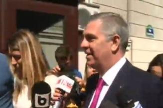 Valeriu Zgonea, audiat la DNA in dosarul Liei Olguta Vasilescu - UPDATE (Video)