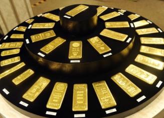 Valoarea rezervei de aur BNR, la nivelul maxim din ultimii 20 de ani