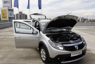 Vanzarile Dacia au crescut spectaculos in Spania
