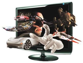 Vanzarile de televizoare 3D se vor tripla in 2011