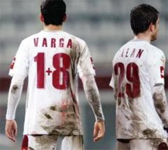 Varga si Balan au jucat pentru Rapid II