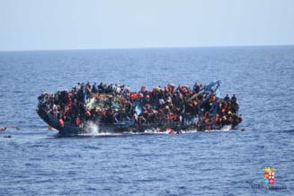 Vas cu refugiati scufundat in Mediterana: Numarul mortilor a ajuns la 150