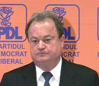 Vasile Blaga: Nu votam niciun Guvern din care nu facem parte