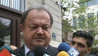 Vasile Blaga, la sediul DNA: Am fost citat ca martor intr-un dosar de abuz in serviciu