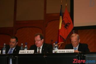 Vasile Blaga, noul presedinte al PDL - alegeri previzibile, dar presarate cu tensiuni