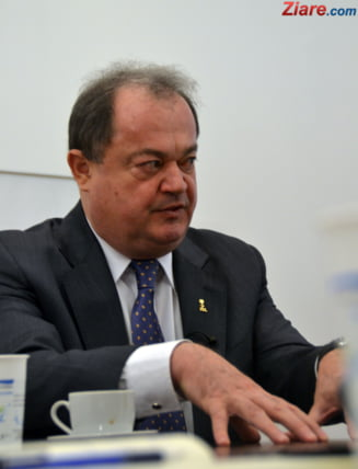 Vasile Blaga a fost trimis in judecata de DNA pentru trafic de influenta