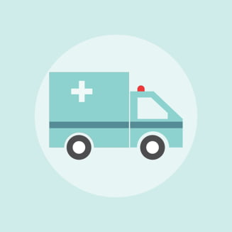Vaslui: O ambulanta s-a impotmolit in noroi UPDATE Ministrul Sanatatii: Pacientul murise cu cateva ore inainte
