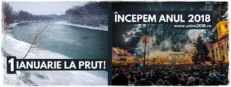 Vasluienii unionisti, asteptati la Falciu de revelion: romani, petreceti Prutul!