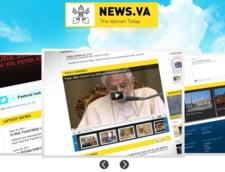 Vaticanul isi lanseaza miercuri portal de stiri