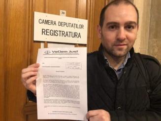 VeDem Just a depus la Parlament o petitie semnata de 40.000 de persoane si cere abrogarea Legii recursului compensatoriu
