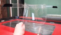VeDemJust a cumparat cu bani din donatii 24 de tone de plastic pentru viziere ce vor fi donate medicilor